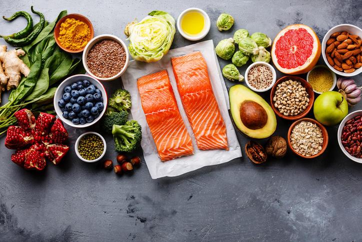 Alimenti caratteristici di una dieta sana