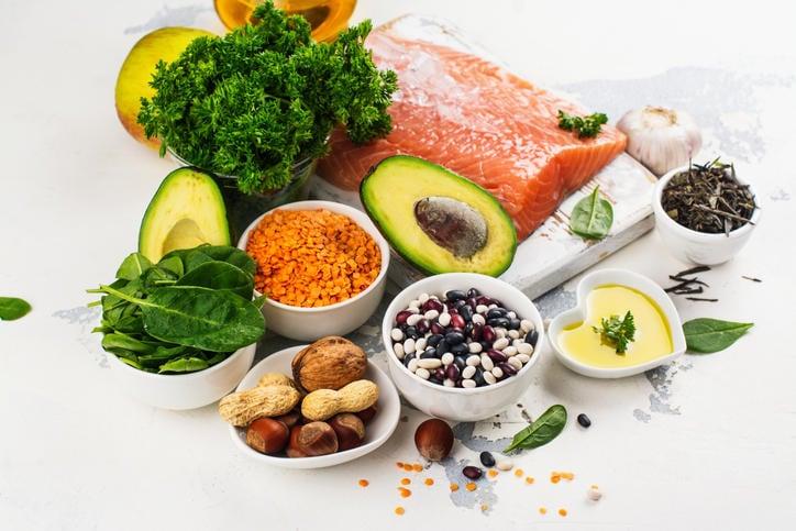Fotografia di alimenti utili nelle diete per colesterolo alto