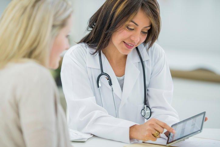 Colloquio con una ginecologa