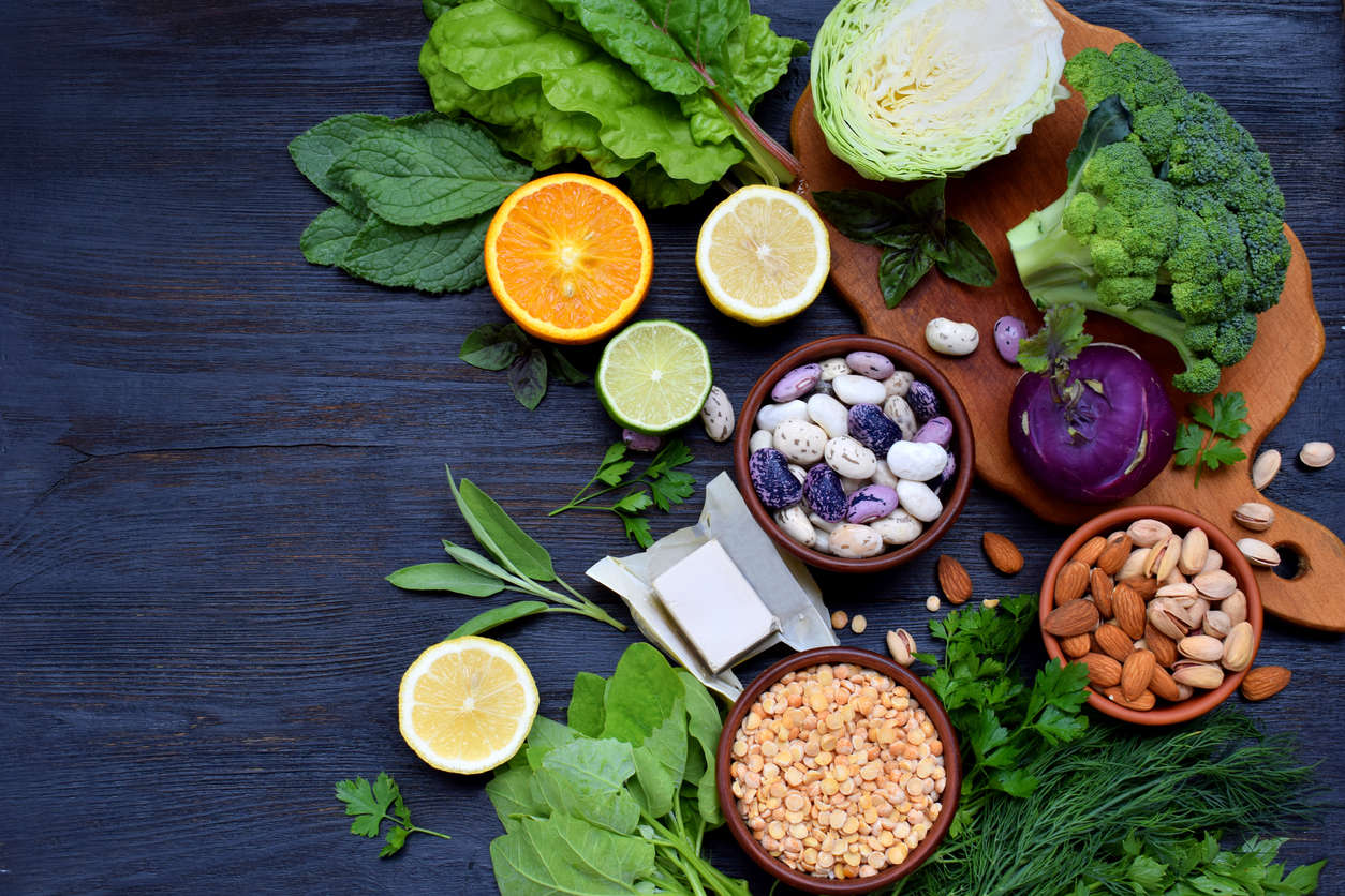 Alimenti ricchi di folati (soprattutto verdure a foglia verde)
