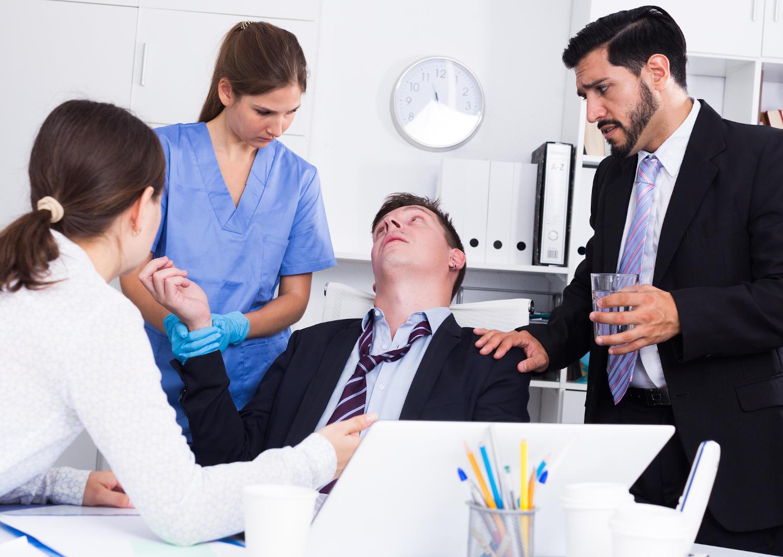 Uomo soccorso dopo un episodio di ipoglicemia